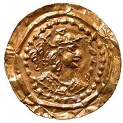 Bracteate - Hephtalites hunnic tribes - Anonymous (Gharwal mint) – obverse