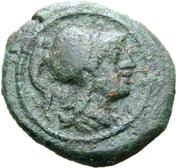 Bronze Æ17 -  obverse