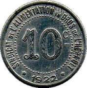 10 Centimes (Hérault) – obverse