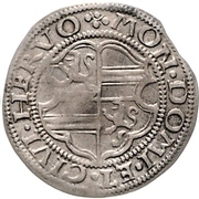 1 Mariengroschen - Anna II von Limburg – reverse