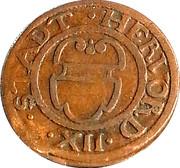 12 Pfennig - Friedrich Wilhelm – reverse