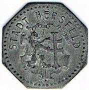 1 Pfennig - Hersfeld – obverse