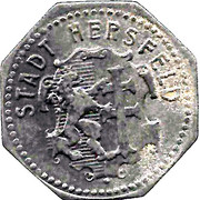 5 Pfennig - Hersfeld – obverse