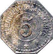 5 Pfennig - Hersfeld – reverse