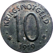 10 Pfennig - Hersfeld – reverse