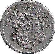 50 Pfennig - Hersfeld – obverse