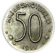 50 Pfennig - Hersfeld – reverse