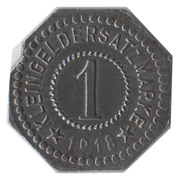 1 Pfennig - Hersfeld – reverse