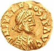 1 Tremissis - Odovacar / In the name of Julius Nepos, 477-480 (Ravenna) – obverse