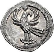 ½ Siliqua - Odovacar / In the name of Zeno, 476-491 (Mediolanum/Milan; both wings up) – reverse