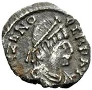 ½ Siliqua - Odovacar / In the name of Zeno, 476-491 (Thick prow) -  obverse