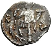 ½ Siliqua - Odovacar / In the name of Zeno, 476-491 (Thick prow) -  reverse