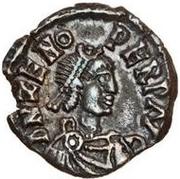 ½ Siliqua - Odovacar / In the name of Zeno, 476-491 (Thin prow) – obverse