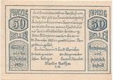 50 Heller (Herzogsdorf) – obverse