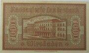 1000 Mark (Nassauische Landesbank) – reverse