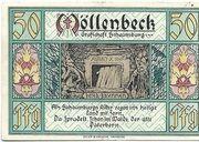 50 Pfennig (Möllenbeck in Schaumburg) – obverse