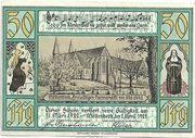 50 Pfennig (Möllenbeck in Schaumburg) – reverse
