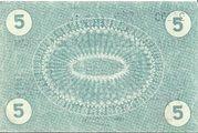 5 Pfennig (Obernkirchen; H. Heye Glasfabrik Schauenstein) – reverse