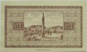 50 Pfennig (Darmstadt) – reverse