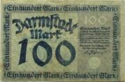 100 Mark (Darmstadt) – obverse