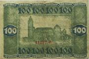 100 Mark (Darmstadt) – reverse
