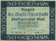 50,000 Mark (Darmstadt) – obverse