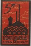 5 Pfennig (Darmstadt; Merck) – obverse