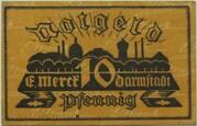 10 Pfennig (Darmstadt; Merck) – obverse