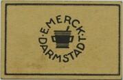 10 Pfennig (Darmstadt; Merck) – reverse