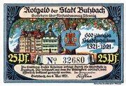 25 Pfennig (Butzbach) – obverse