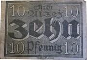 10 Pfennig (Alzey) – reverse