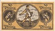 50 Pfennig (Kreis Erbach im Odenwald) – reverse