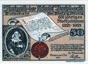 50 Pfennig (Butzbach) – obverse
