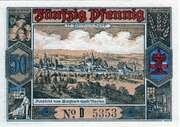50 Pfennig (Butzbach) – reverse