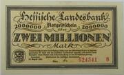 2,000,000 Mark (Hessische Landesbank) – obverse