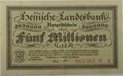 5,000,000 Mark (Hessische Landesbank) – obverse