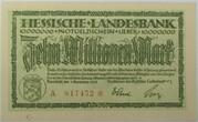 10,000,000 Mark (Hessische Landesbank) – obverse