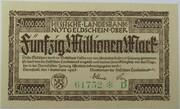 50,000,000 Mark (Hessische Landesbank) – obverse