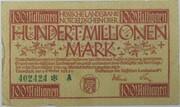 100,000,000 Mark (Hessische Landesbank) – obverse