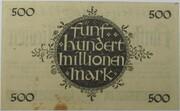 500,000,000 Mark (Hessische Landesbank) – reverse