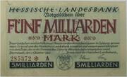 5,000,000,000 Mark (Hessische Landesbank) – obverse