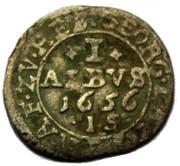 1 Albus - Georg II – reverse