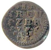 1 Kreuzer - Ludwig VIII – reverse