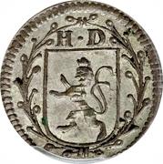 2 Kreutzer - Ludwig VIII – obverse