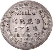 12 Kreuzer - Ernst Ludwig – reverse