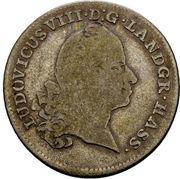 10 Kreuzer - Ludwig VIII. (10 Konventionskreutzer) – obverse