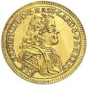 1 Ducat - Ernst Ludwig (Reformation) – obverse