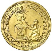 1 Ducat - Ernst Ludwig (Reformation) – reverse