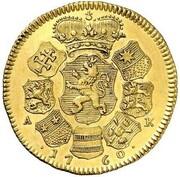2 Ducats - Ludwig VIII. – reverse