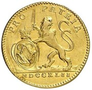 1 Ducat - Ludwig VIII. – obverse